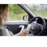 Gefahr & Risiko, Sms, Autofahrerin