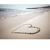 Beach, Heart, Wanderlust