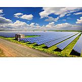 Solaranlage, Sonnenenergie, Solarpark