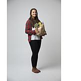 ökologisch, Papiertüte, Einkäufe