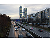 Office Building, Munich, Road Traffic