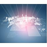 Global, Internet, Residents, Social Media