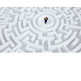 Business, Strategy, Labyrinth, Way Out