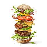 Hamburger, Amerikanische Küche