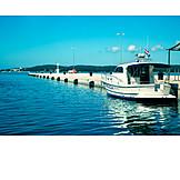 Jetty, Police boat, Porec