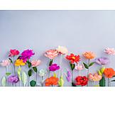Copy space, Still life, Flowers