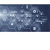 Healthcare & Medicine, Data, Pictogram