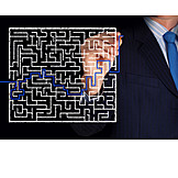 Business, Orientierung, Lösungsweg
