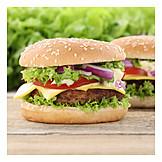 Cheeseburger, American Cuisine