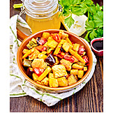 Asian Cuisine, Vegetable Pan
