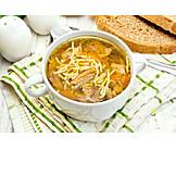 Noodle Soup, Meat