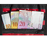Savings, Swiss Franc, Wallet