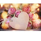 Muttertag, Valentinstag, Rosenstrauß