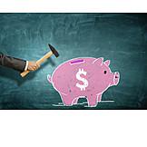 Save, Piggy Bank, Savings