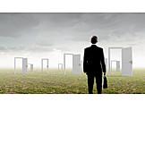 Karriere, Tür, Möglichkeit