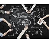 Business, Planung, Strategie, Projektmanagement