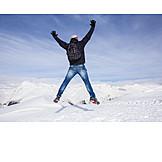 Mann, Spaß & Vergnügen, Winter