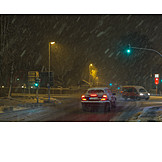 Weather, Road Traffic, Winter