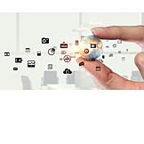 Media, Icon, App