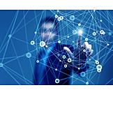Communication, Network, Virtual