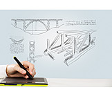 Architecture, Man Made Structure, Drawing, Draft, Graphics Tablet
