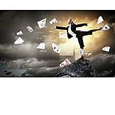 Karriere, Balance, Projekt, Selbstständig, Geschäftsführerin, Papierkram, Projektmanagement