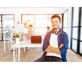 Arbeit & Beruf, Büro, Grafiker, Coworking