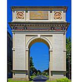 Arc de triomphe, Vác