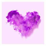 Pink, Heart, Pigment