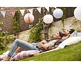 Father, Enjoyment & Relaxation, Summer, Daughter