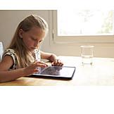 Girl, Leisure & Entertainment, Tablet-pc