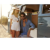 Love Couple, Vacations, Camper
