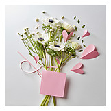 Bouquet, Bouquet, Flowers, Wind rose