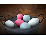 Dyed, Easter eggs