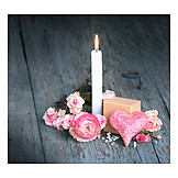 Dekoration, Muttertag, Kerze