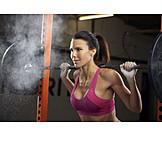 Sportswoman, Weightlifting, Weightlifting
