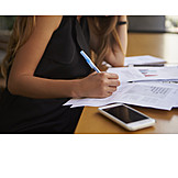 Büro & Office, Schreiben, Prüfen, Report