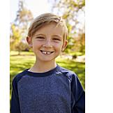 Kind, Sommersprossen, Zahnlücke