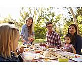 Park, Mahlzeit, Picknick
