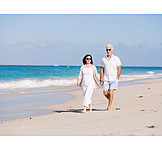 Beach Walking, Love Couple, Relationship