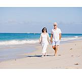 Beach Walking, Love Couple, Relationship