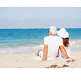 Beach, Relaxing, Love Couple