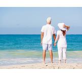 Beach Walking, Summer, Relationship