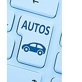 Dienstleistung, Online, Autohandel