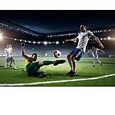 Soccer, Soccer, Attack, Duel, Match