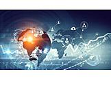 Wirtschaft, Netzwerk, Globalisierung