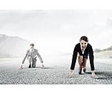 Wettbewerb & Konkurrenz, Karriere, Startposition