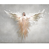 Religion, Fantasy, Angel Wings
