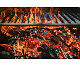 Grill, Fire