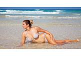 Woman, Bikini